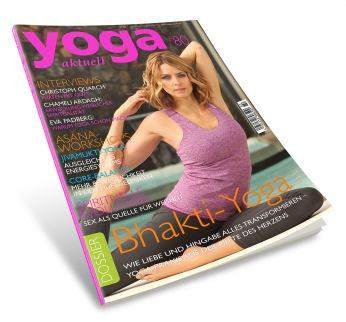 Eva Padberg Yoga Aktuell