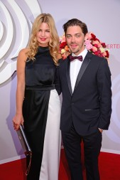 Tom Payne and Jennifer Akermann