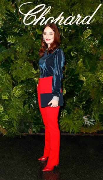 Maria Ehrich at the Chopard Night, Berlin 2018