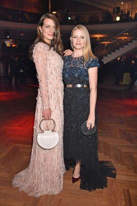Alice Dwyer & Jennifer Ulrich at the Deutscher Filmpreis 2018