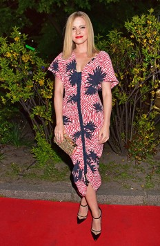 Bunte New Faces Film Award at Haus Ungarn. Featuring: Jennifer Ulrich Where: Berlin, Germany When: 27 Apr 2017 Credit: AEDT/WENN.com