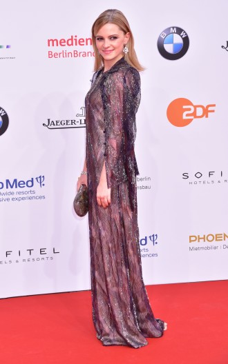 Deutscher Filmpreis (German Film Award) at Palais am Funkturm.Featuring: Jennifer Ulrich Where: Berlin, Germany When: 28 Apr 2017 Credit: AEDT/WENN.com